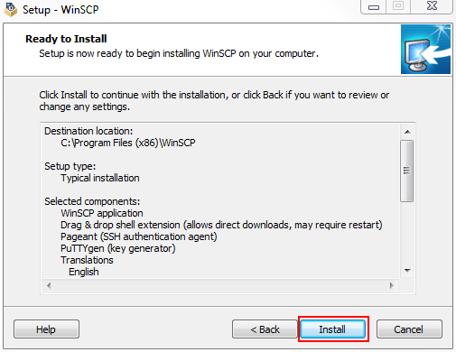 WinSCP — How to install – DreamHost
