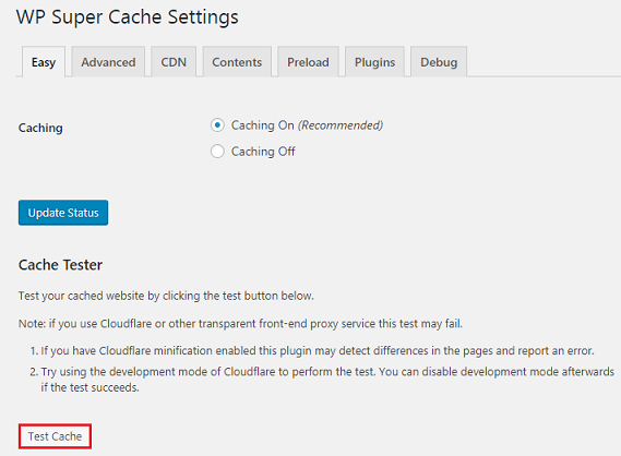 Installing WP Super Cache – DreamHost