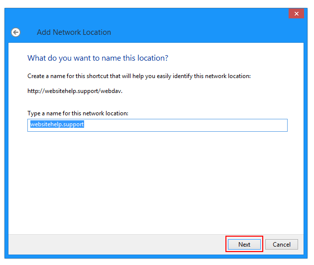 Accessing WebDAV with Windows – DreamHost