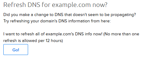 Refresh_DNS_Go_button