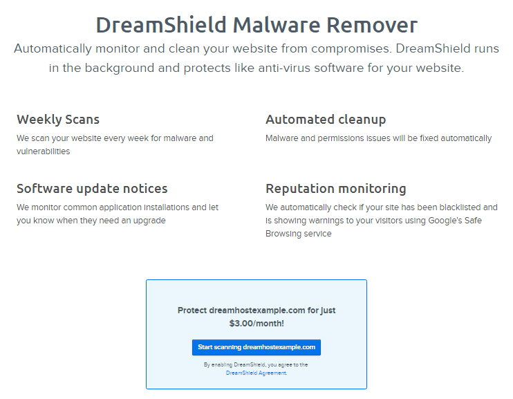 Safe Site Checker >> How Do I Enable Dreamshield Dreamhost