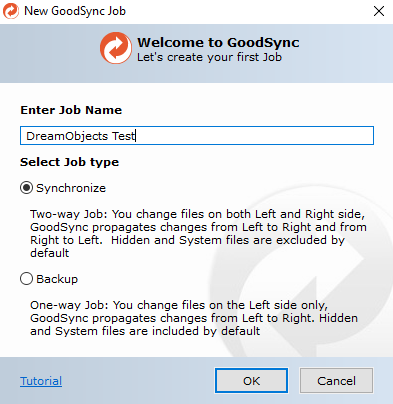 GoodSync – DreamHost