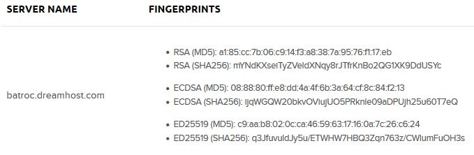 ssh-keygen public key fingerprint