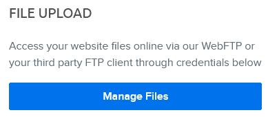 webftp button