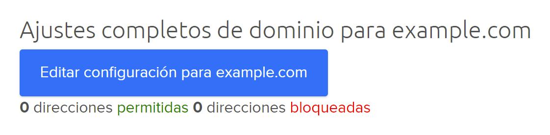 edit domain settings button