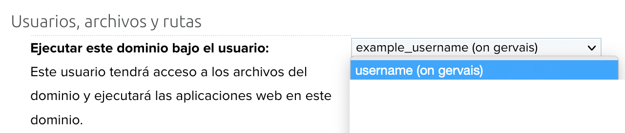 Website user