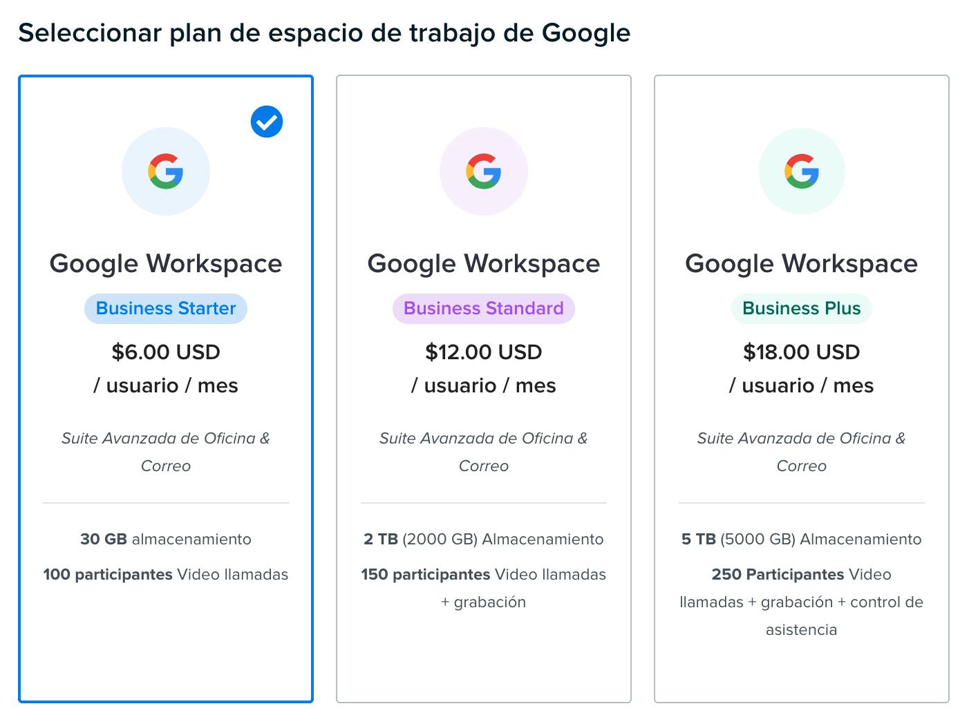 google workspace sign up