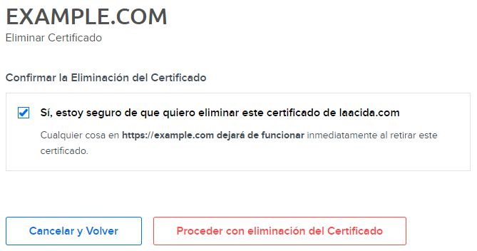 panel ssl remove certificate