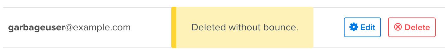 garbage email address