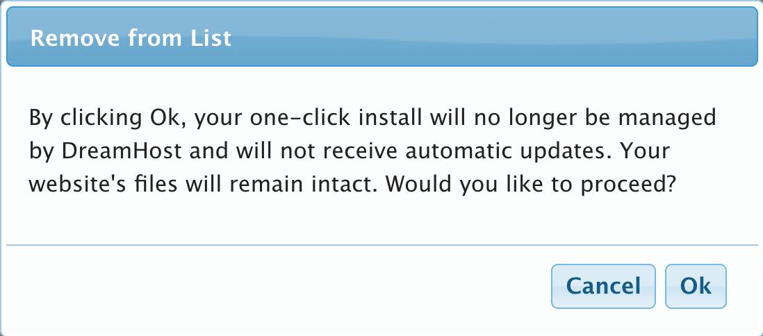 Remove one-click confirmation