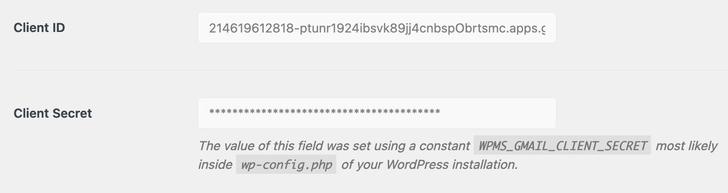 wp mail smtp password