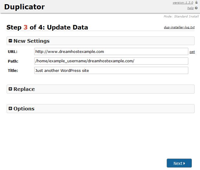 Duplicator_plugin_step3
