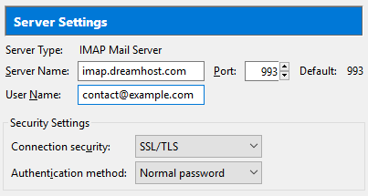 Email client protocols and port numbers – DreamHost
