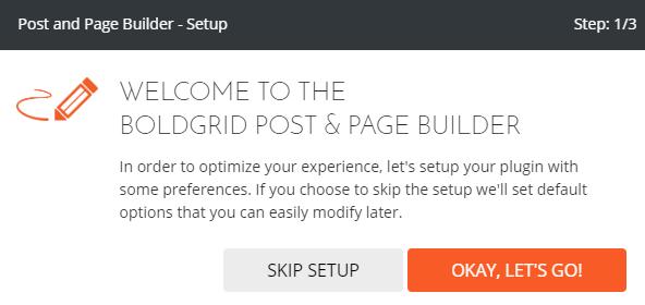 customizing boldgrid