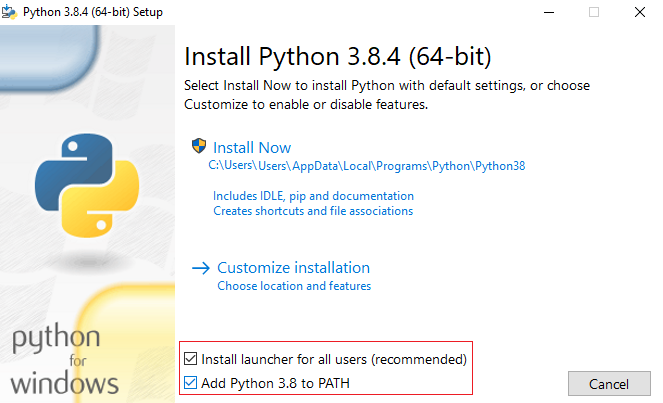 downloading python3