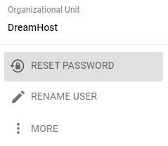 reset g suite user password