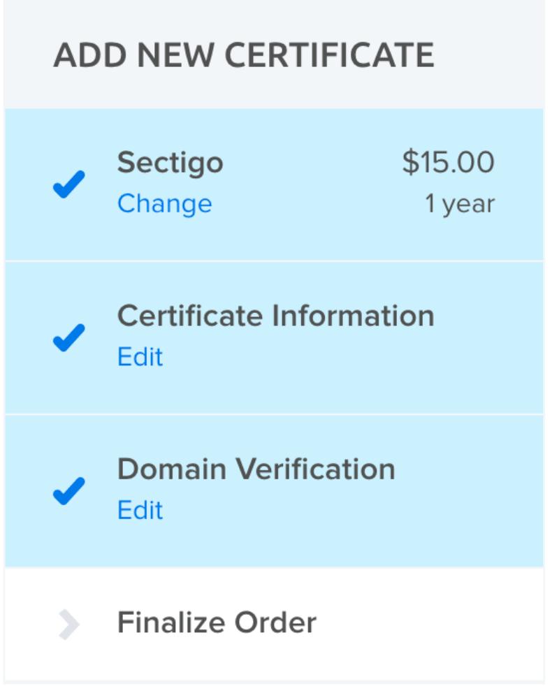 panel sectigo cert payment