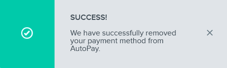 remove autopay success