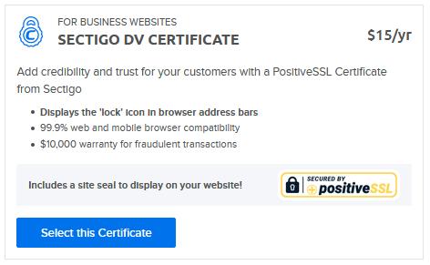 Standalone SSL cert